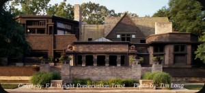 Frank Lloyd Wright House Studio