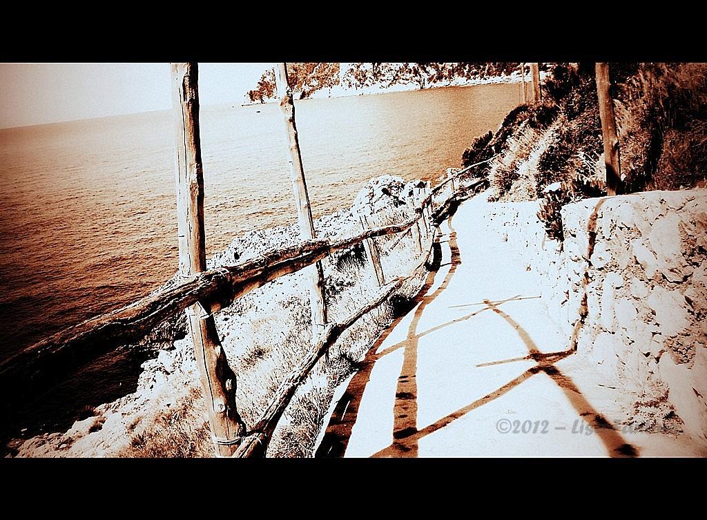 Shadows Italy Capri