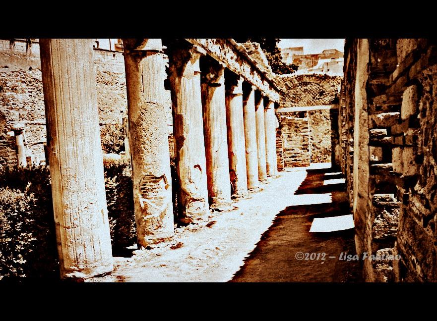 Shadows Italy Pompei