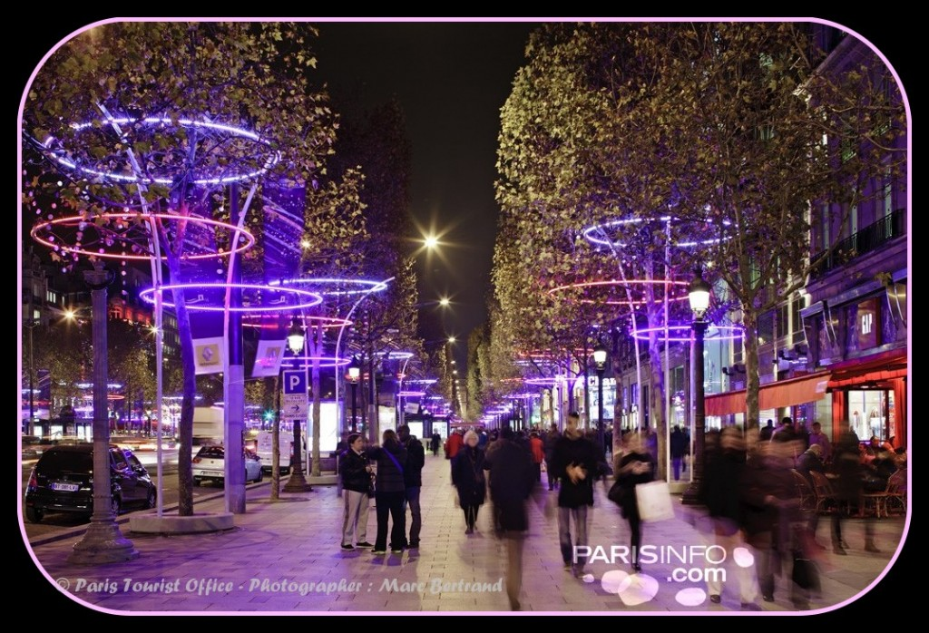 Paris Christmas Lights