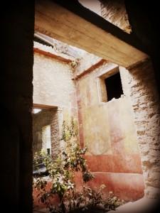 Italian Villa Oplontis courtyard