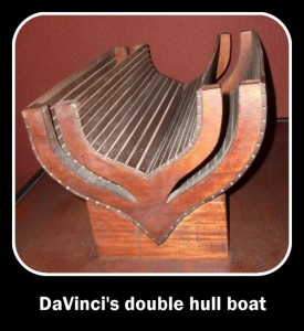 DaVinci double hull boat