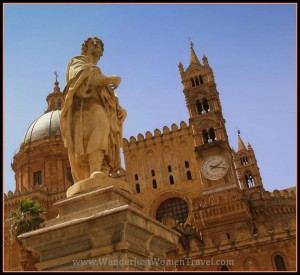 Palermo Cathedral Clock Tower
