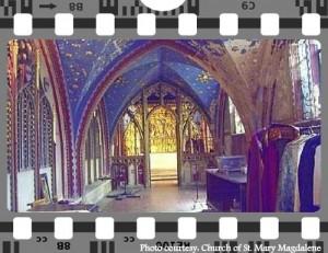 London film.Church St Mary Magdalene