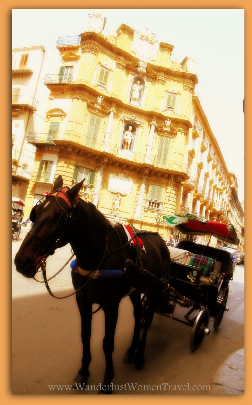 Palermo Quattro Canti Cavallo