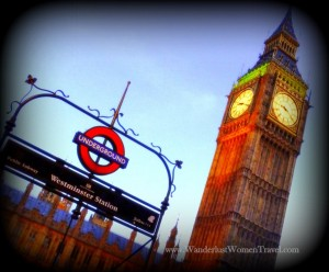Westiminster Tube Big Ben