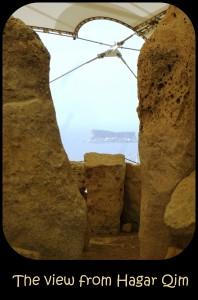 View at Hagar Qim Malta