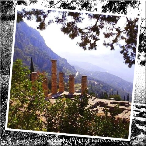 Greek view from Delphi